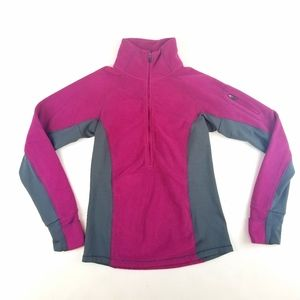 Womens Columbia Fleece Half Zip Pullover Size XS
